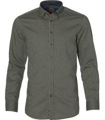 benvenuto overhemd - modern fit - groen