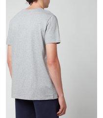 a.p.c. men's vpc logo t-shirt - heather grey - xl