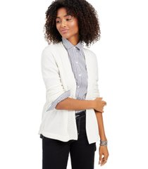 charter club cashmere open-front cardigan, regular & petite sizes, created for macy's
