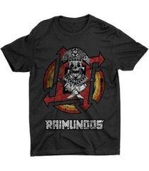 camiseta anime banda raimundos - unissex