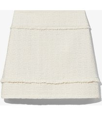 proenza schouler white label bouclé tweed mini skirt white 6