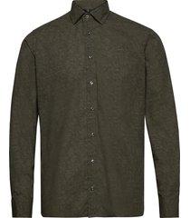 8669 - state n 2 soft overhemd casual groen sand