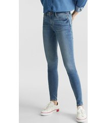 jeans skinny medium rise denim esprit
