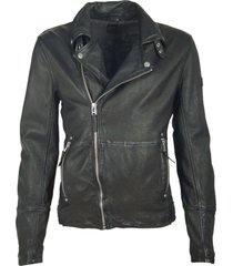 gipsy rustle sf lanicv black leather jacket