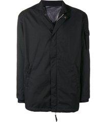 11 by boris bidjan saberi lightweight loose jacket - black