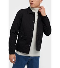 selected homme slhcharlie workwear jacket w jackor svart