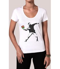 camiseta fire flower thrower