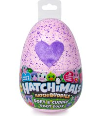 """hatchimals hatchibuddies - 6"""" tall plush with egg (styles may vary)"""