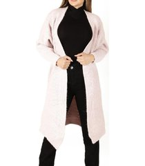 abrigo lyon iii palo rosa divino jeans