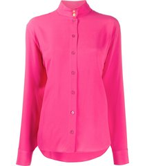 ps paul smith relaxed fit blouse - pink