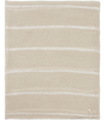 calvin klein satin striped pleated scarf