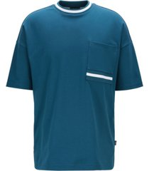 boss men's tiburt 125 relaxed-fit cotton t-shirt