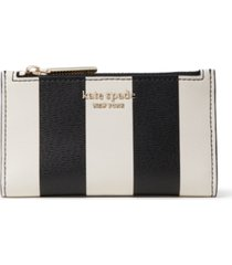 kate spade new york spencer stripe small slim bifold wallet