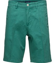 o1. cotton linen shorts shorts chinos shorts groen gant