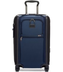 tumi alpha 3 international expandable 4 wheeled carry-on spinner suitcase