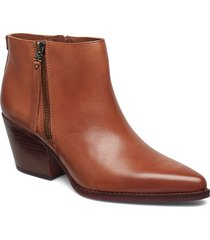walden shoes boots ankle boots ankle boot - heel brun sam edelman