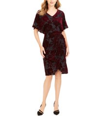 28th & park velvet burnout sheath dress, created for macy's
