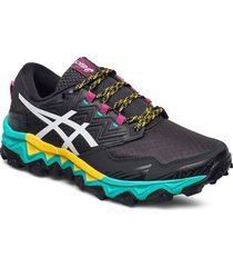 gel-fujitrabuco 8 g-tx shoes sport shoes running shoes svart asics