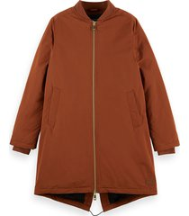 159142 padded parka jacket with recycled primaloft filling