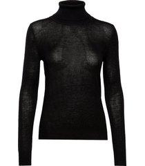 pullover ls turtleneck coltrui zwart rosemunde