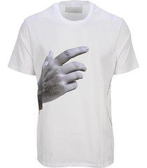 neil barrett hand t-shirt