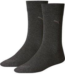 puma sokken 2-pak antraciet