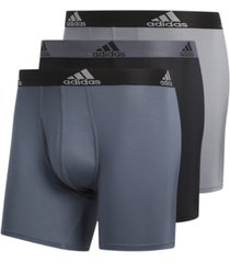 adidas men's 3-pk. performance boxer briefs