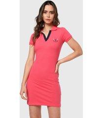 vestido rosa-azul us polo assn