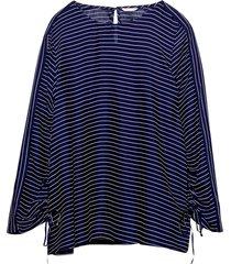 blus printed blouse
