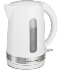 hamilton beach 1.7-l cordless electric kettle
