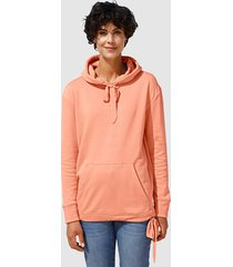 sweatshirt dress in apricot