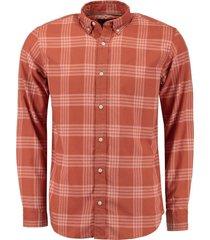 overhemd jax oranje