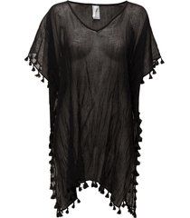 amnesia kaftan beach wear svart seafolly