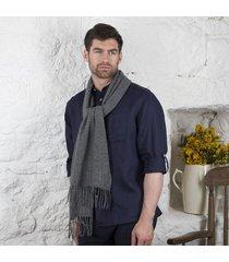 foxford pinstripe lambswool scarf