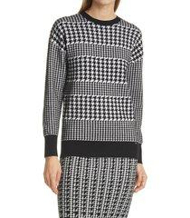 women's ted baker london novahh altas sweater, size 2 - black