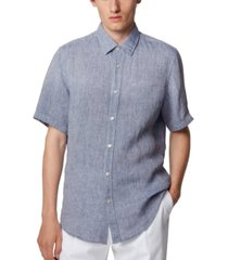 boss men's luka 2 regular-fit shirt