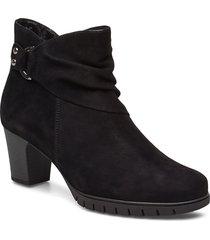 ankle boots shoes boots ankle boots ankle boots with heel svart gabor