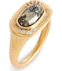 women's kendra scott anna tapered band ring