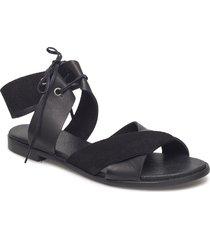 mona l shoes summer shoes flat sandals svart shoe the bear