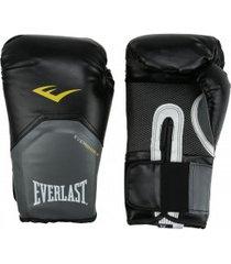 luvas de boxe everlast pro style - 16 oz - adulto - preto/branco
