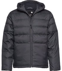 ua sportstyle down hooded jacket gevoerd jack zwart under armour