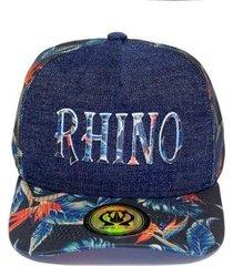 bone rhino size trucker snapback
