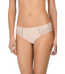 natori bella cheeky brief panty underwear intimates, women's, cotton, size xl natori