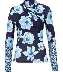 maglia a maniche lunghe (blu) - bodyflirt boutique