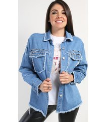 chaqueta denim erika azul night concept