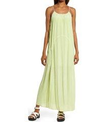 women's allsaints amor sleeveless dress, size 00 - green