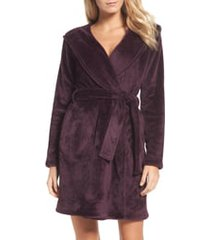 women's ugg miranda robe, size x-small - burgundy