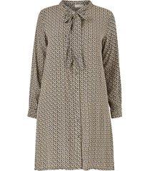 klänning carretroreturn ls knee shirt dress
