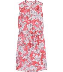 vestido rosa-blanco gap