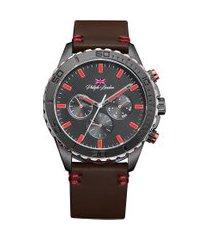 relógio cronógrafo philiph london masculino - pl80138612m preto